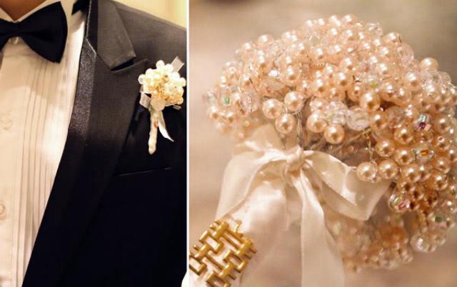 Атрибуты жемчужной свадьбы