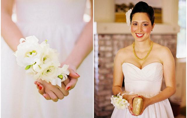 Мини-букет невесты