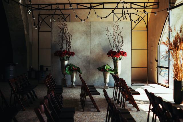 Оформление дубовой свадьбы