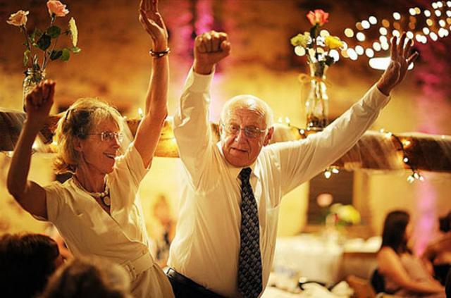 Отжигают на благодарной свадьбе