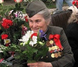 Бабушка-ветеран