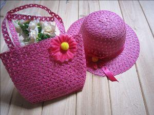 Шляпка с сумочкой в подарок бабушке