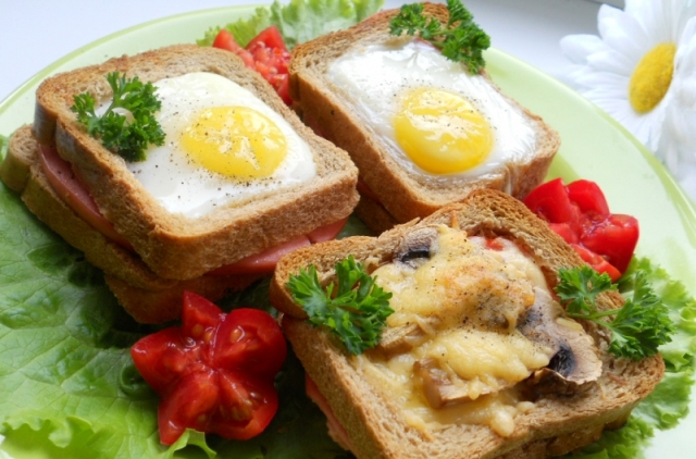 простые бутерброды на праздничный стол