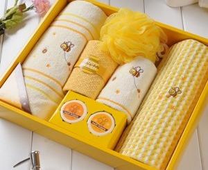Банные полотенца в подарок