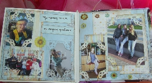 Фотоальбом в подарок подруге своими руками