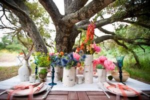 Деревянная свадьба на природе