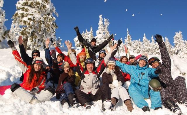 Зимний пикник на 23 февраля