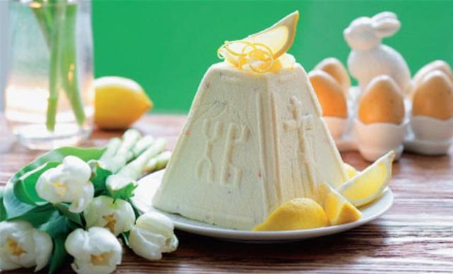 Традиционная пасха со сгущенным молоком