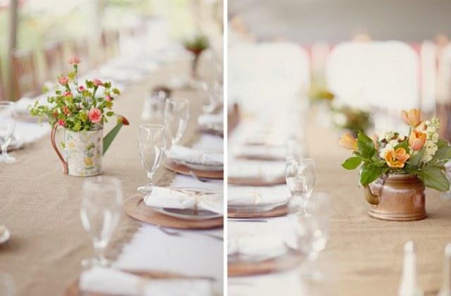 Жестяная свадьба стол