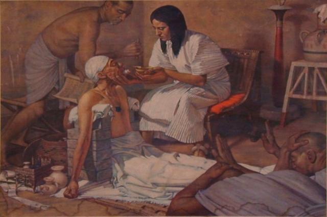 Лечение рабов