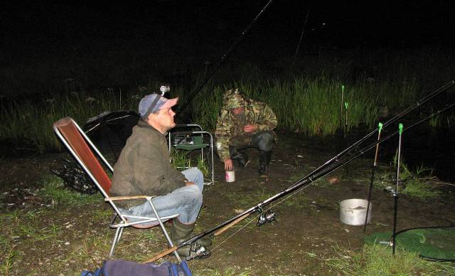 Ночная рыбалка