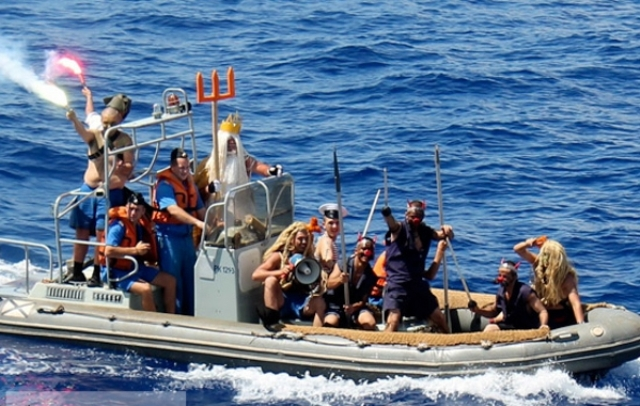 День Нептуна у моряков