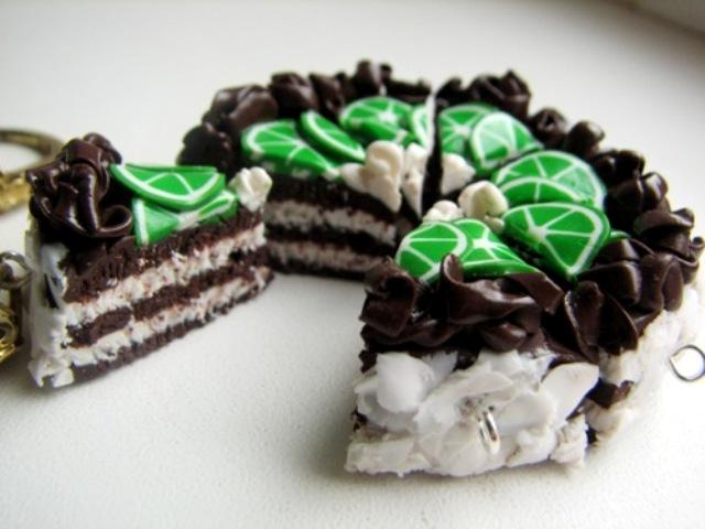 Торт из полимера