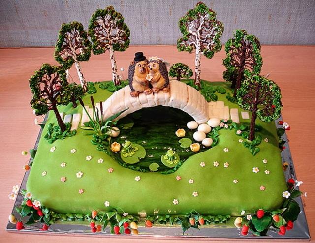 Торт о природе