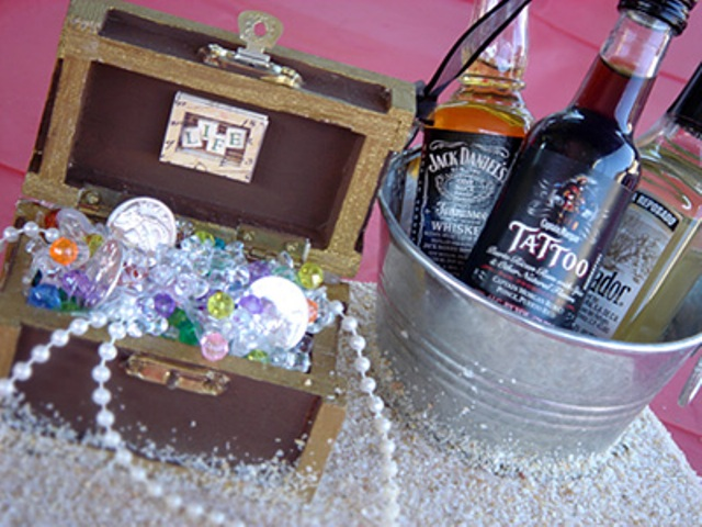 Алкоголь на пиратской вечеринке
