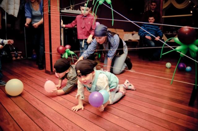 Конкурсы детской пиратской эстафеты