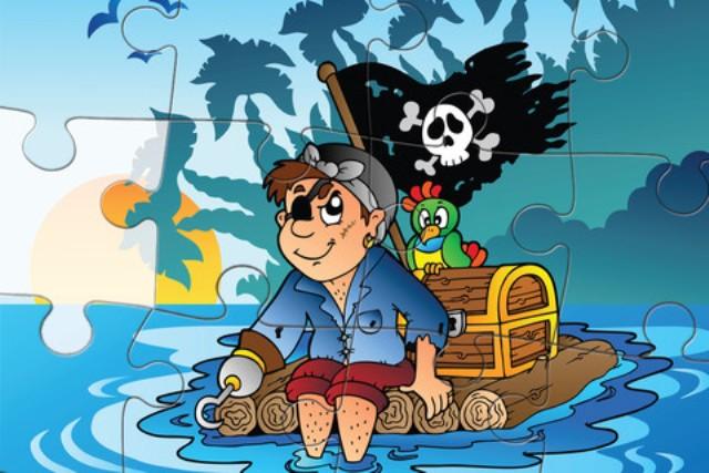 Пиратские пазлы
