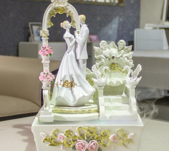 Подарки на свадьбу фонтаны