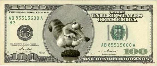Приколы с деньгами