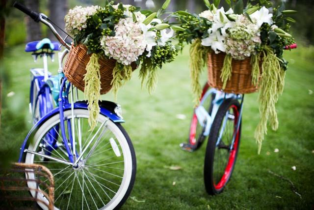 Велосипеды на свадьбу