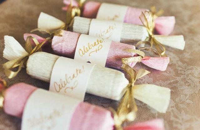 Подарки гостям на свадьбу своими руками