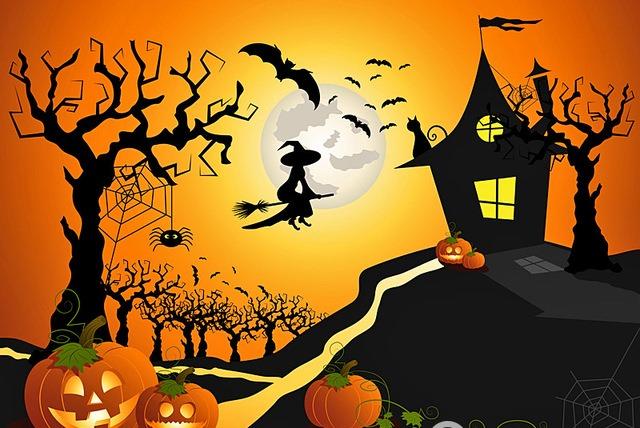 Пригласительные на Хэллоуин