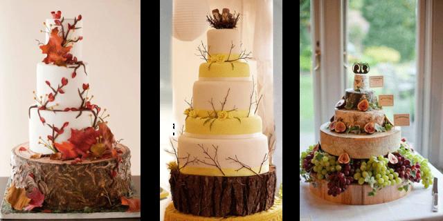Свадебный торт в ноябре