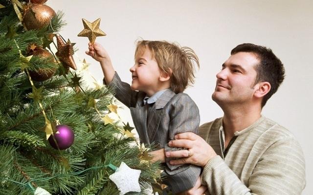 Чем порадует сын папу на Новый Год