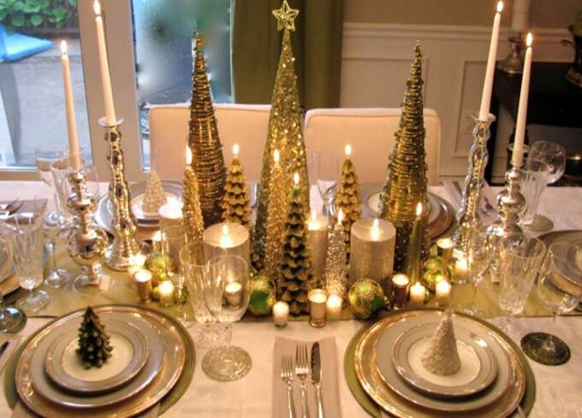 Как сервировать стол на новый год: выбираем цветовую гамму