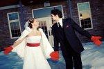 Свадьба в новогодней тематике
