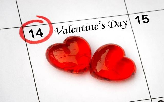 14 февраля, День Святого Валентина: