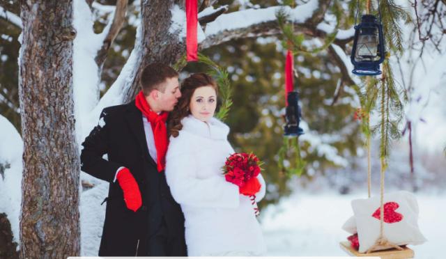 Свадьба в феврале