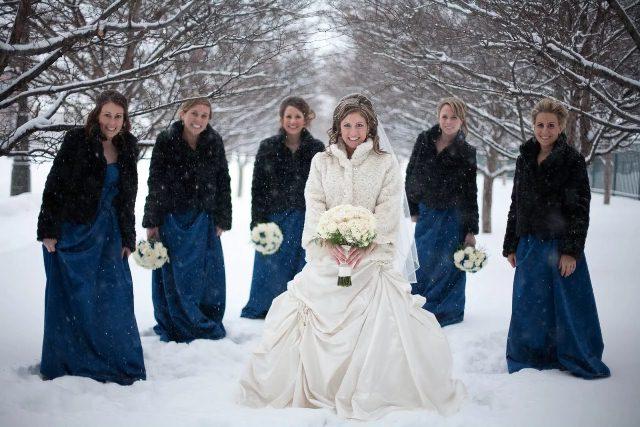 свадьбе в марте