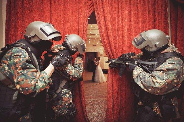 Спецназ на свадьбе