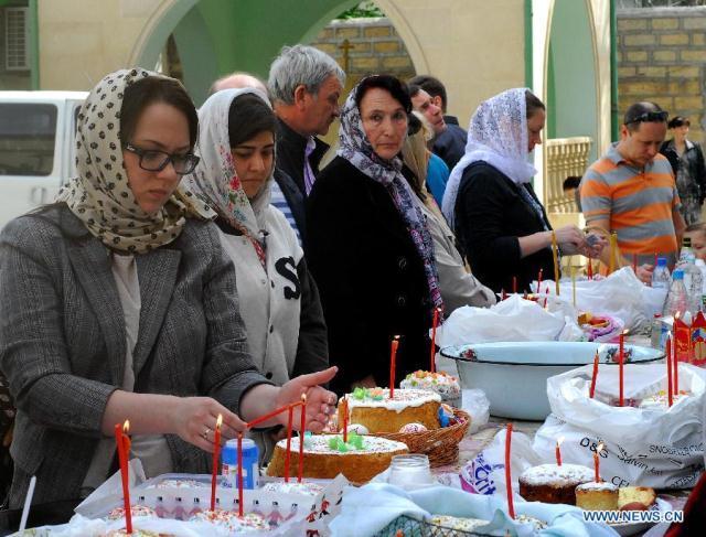 Пасха в Азербайджане