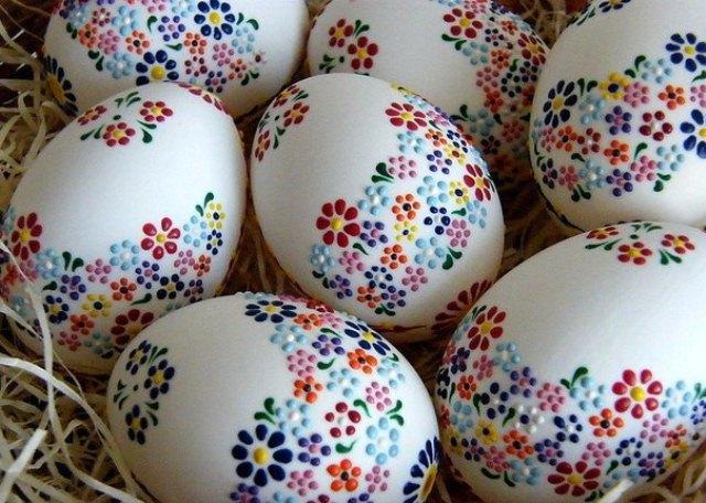 Искусство росписи пасхальных яиц