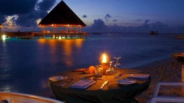 Романтика на пляже