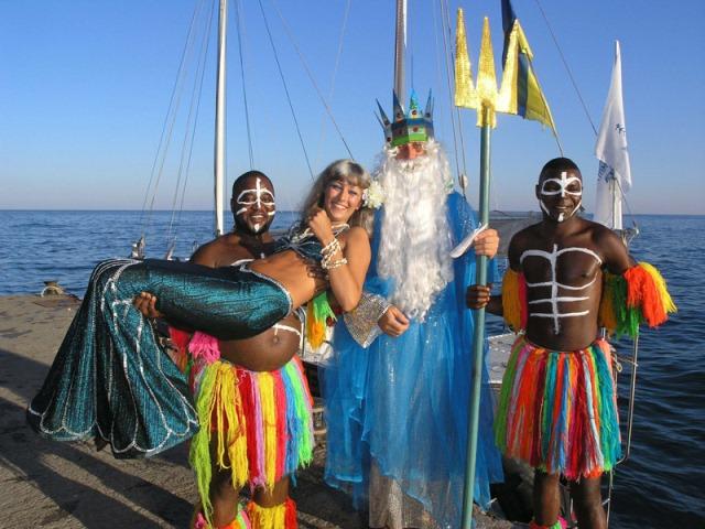 Праздник морской тематики