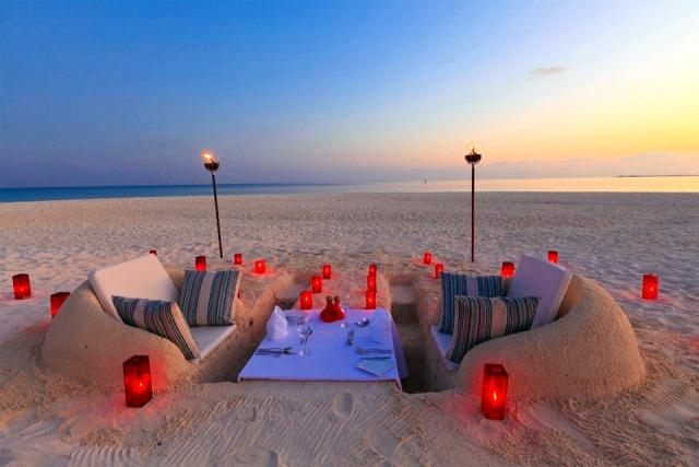 Пикник на пляже