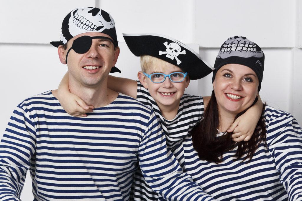 Морская семья