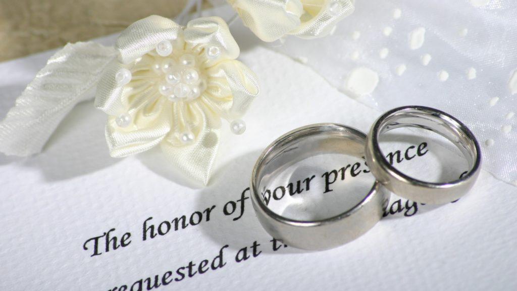 Никелевые свадебные кольца