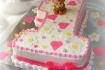 Торт на день рождения 1 годик