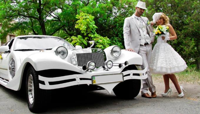 Авто на свадьбе