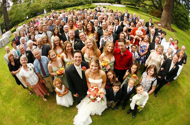 Большая свадьба в июле