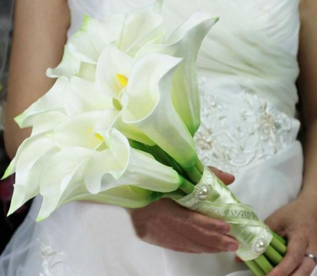 Каллы на свадьбе