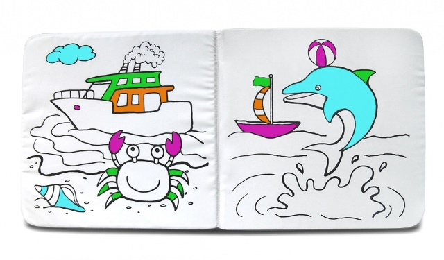 Книжка раскраска