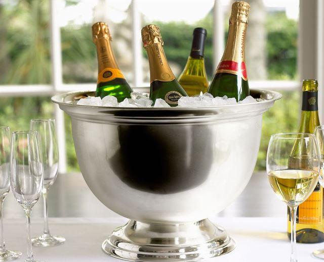 Охлаждение шампанского