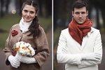 Что одеть на свадьбу в ноябре