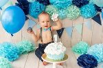 Первый день рождения сына