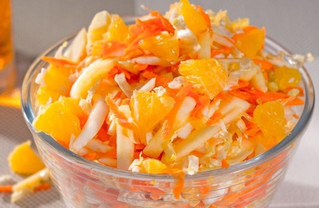Морковный с фруктами